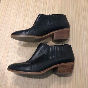 Madewell black booties